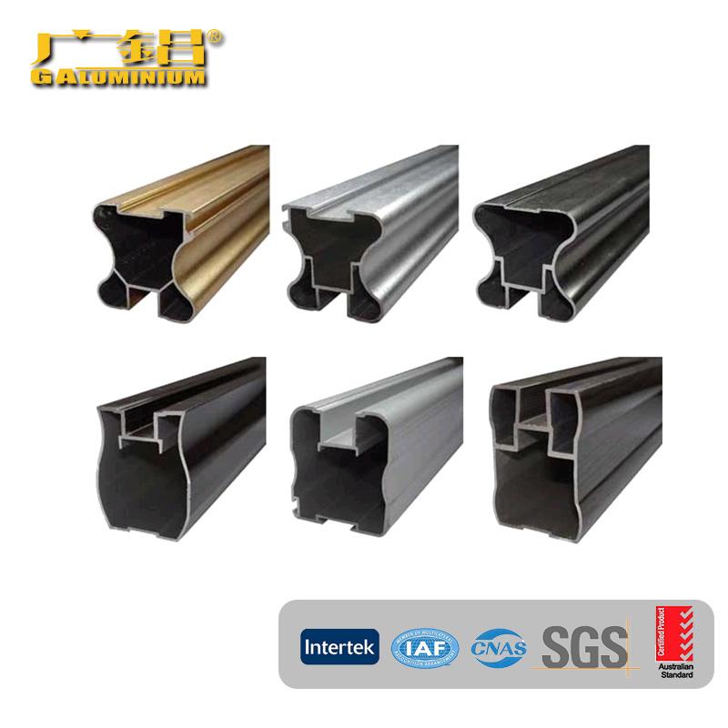 Aluminium cabinet profiles