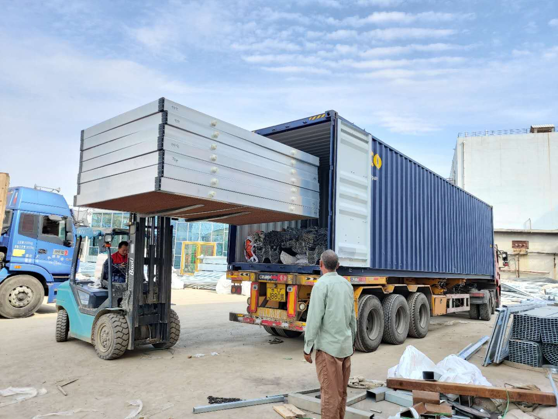 Serre de polycarbonate au Qatar