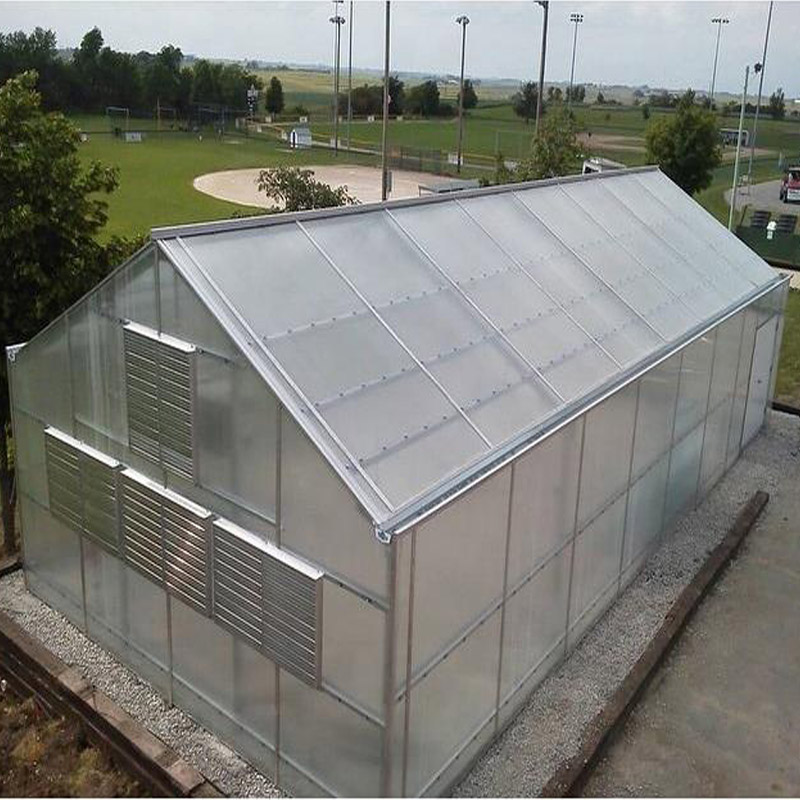 PC greenhouse for garden