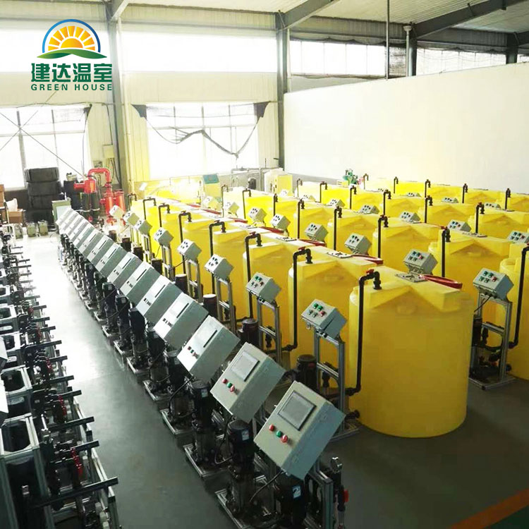 Auto Control Intelligent Fertilizer System For Greenhouse