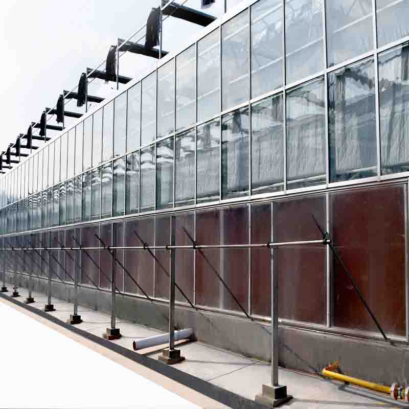 Glass Agriculture greenhouse