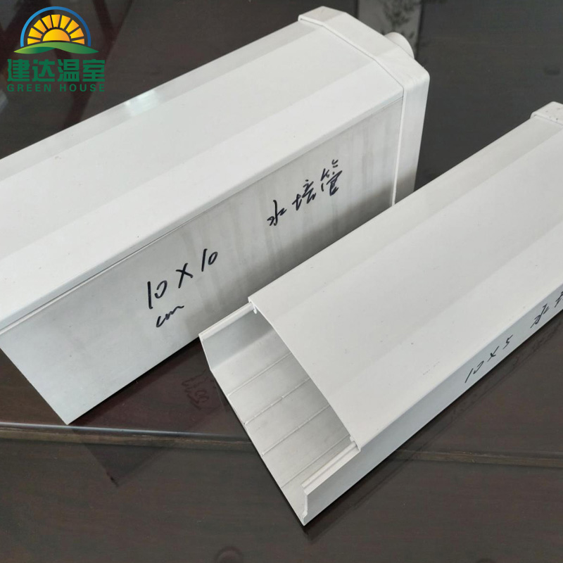 PVC pipes for NFT system