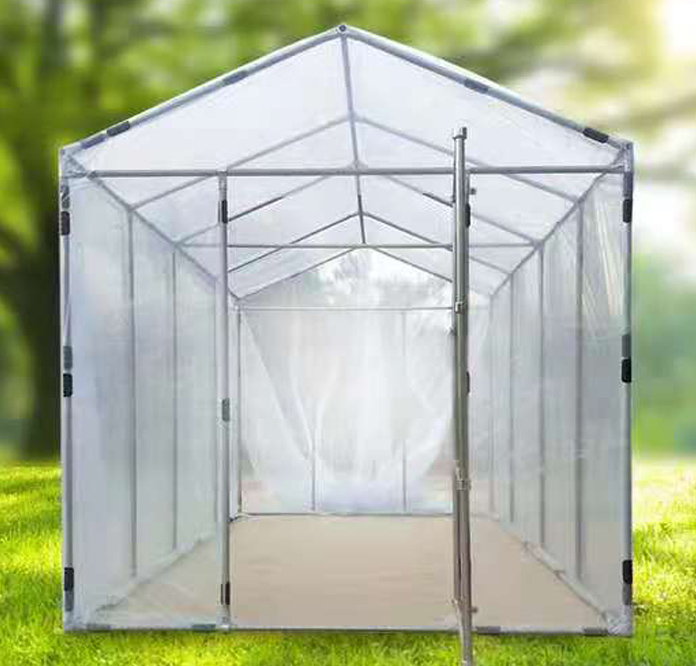 small outdoor greenhouse