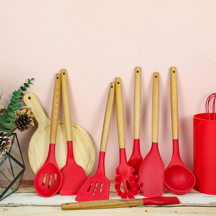 Multipurpose Silicone Kitchen Tools Sets