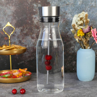 Borosilicate Glass Pitcher With Cup