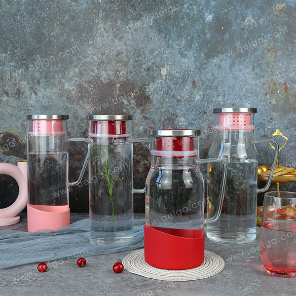 Borosilicate Glass Pitcher With Filter