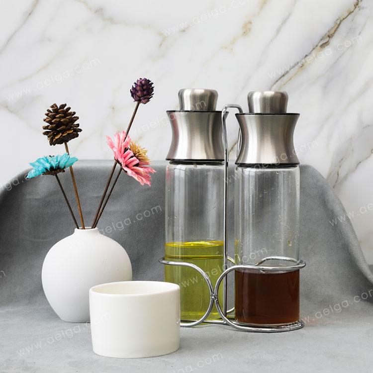 Heat Resistant Borosilicate Glass Oil Bottle For Olive Oil