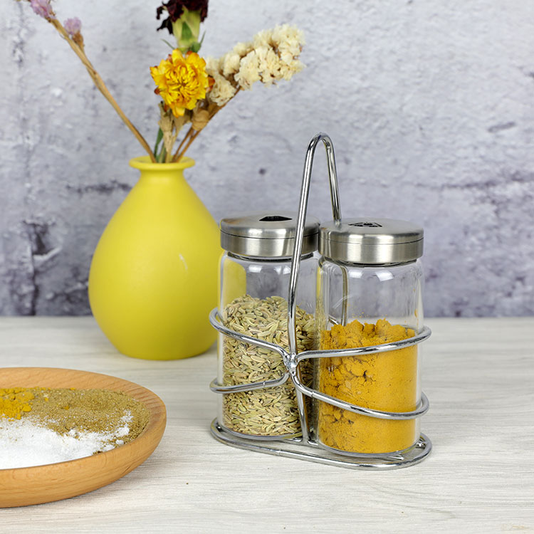 Heat Resistant Borosilicate Glass Spice Container For Kitchen