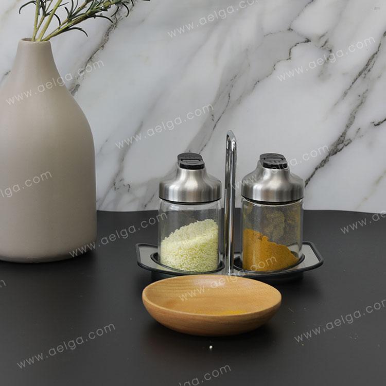 Heat Resistant Borosilicate Glass Spice Jar For Pepper