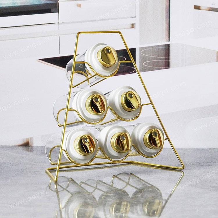 Heat Resistant Borosilicate Glass Spice Jar For Salt