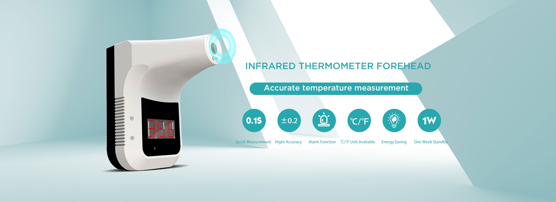 Seinale paigaldatav mittekontaktne infrapuna-termomeeter