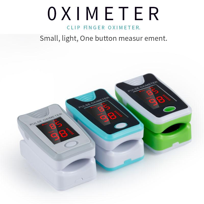 Fingertip oximeters pulse CE FDA contec monitor