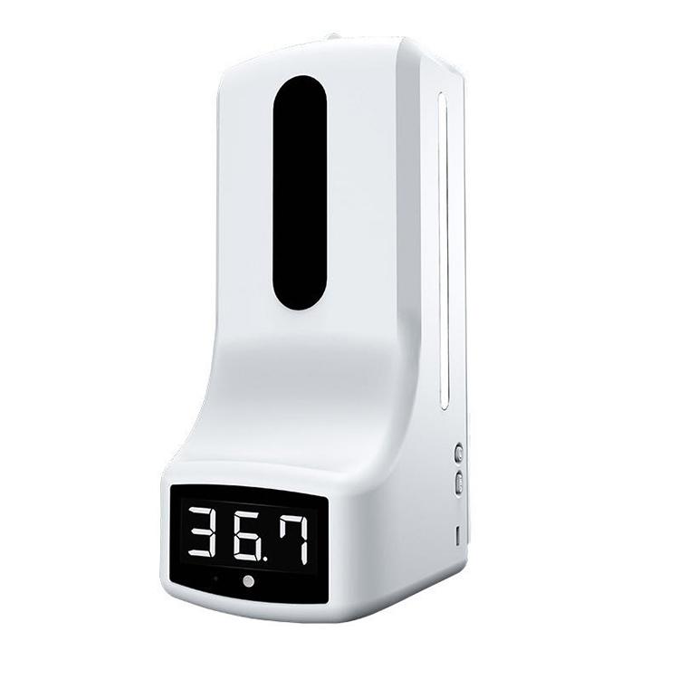 K9 Xaboia Dispentsadorea, 2 ukitu gabeko termometro infragorriekin
