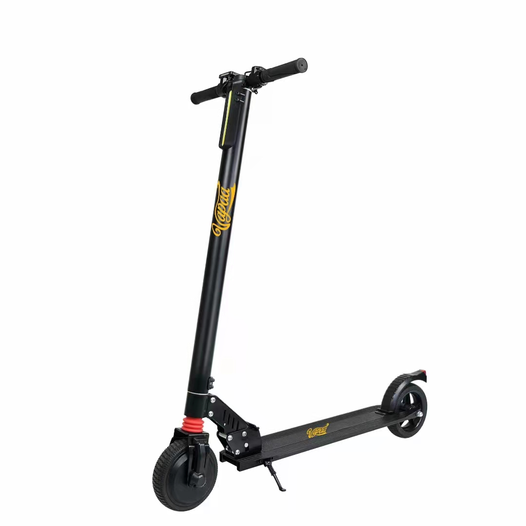 The pursuit of fashion by electric scooters