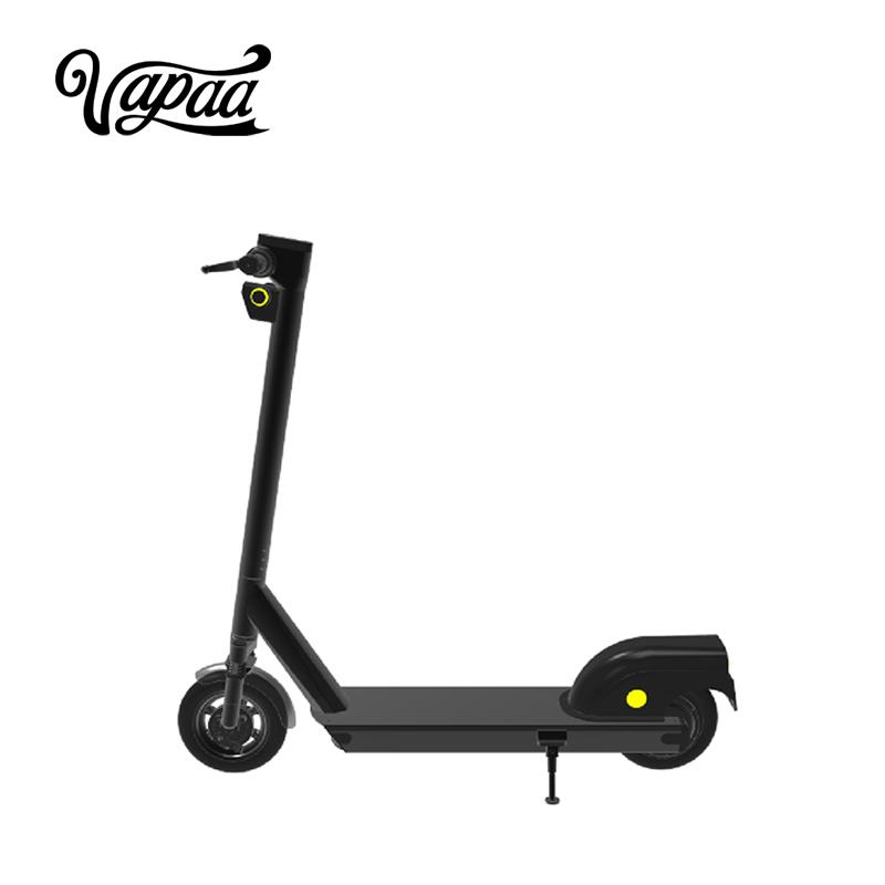 Scooter elektrikoa GPSa partekatzeko aplikazioarekin