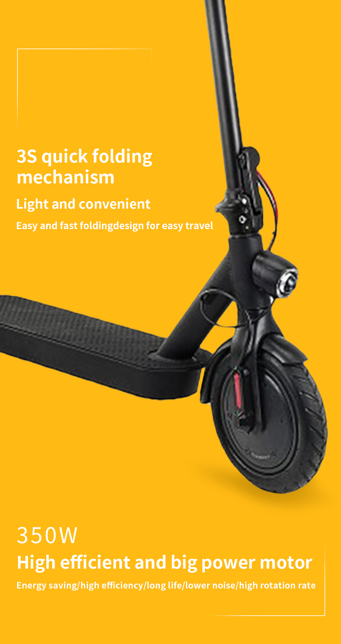 Lightweight Folding Electric Scooter