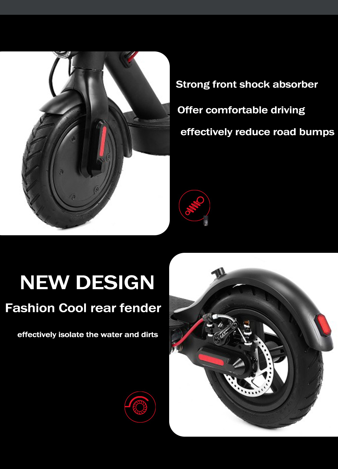 Folding Electric Kick Scooter