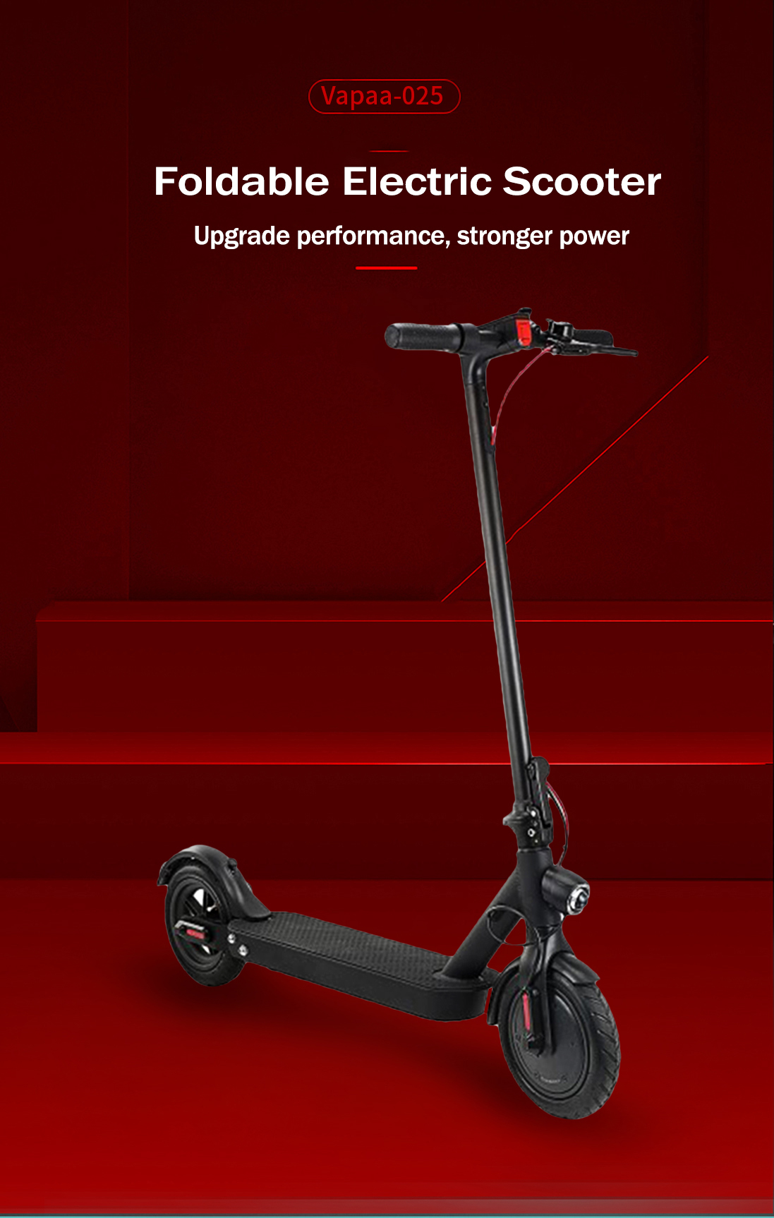 Long Life Folding Electric Scooter