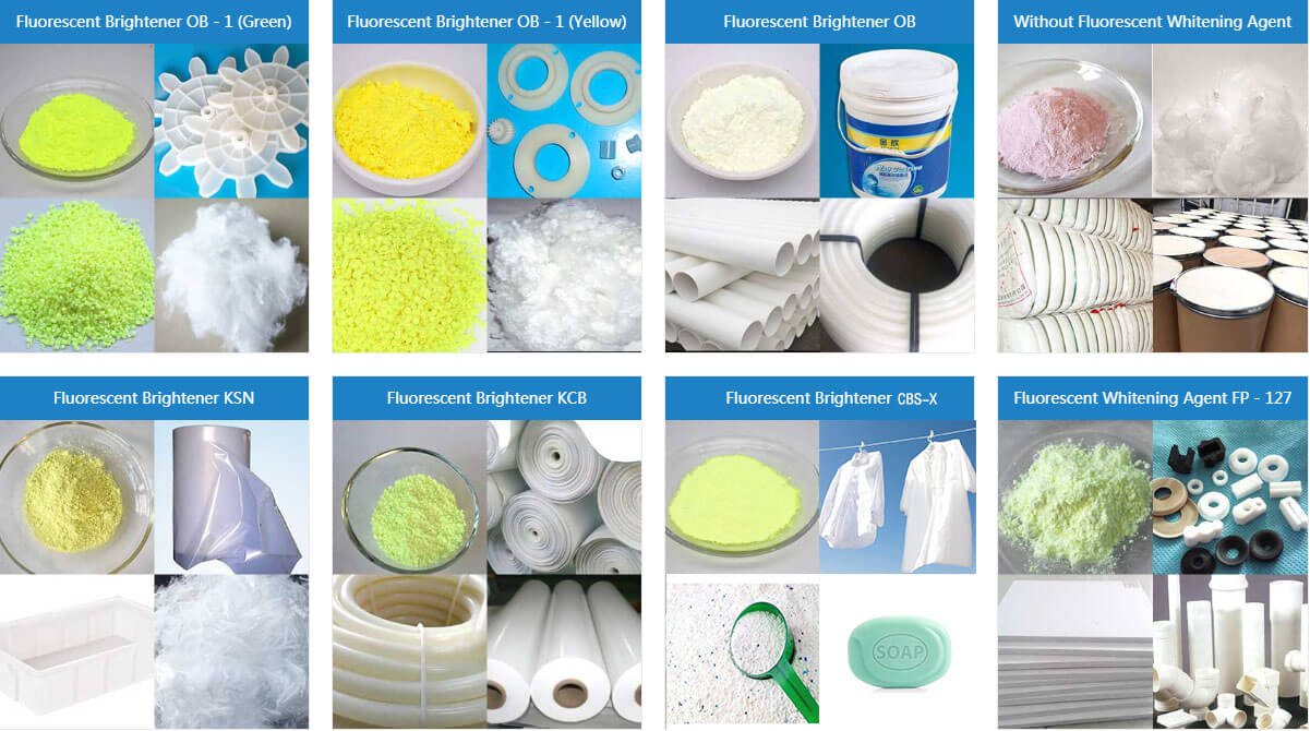 The plastic raw material and optical brightener can affect the whitening effect of plastics