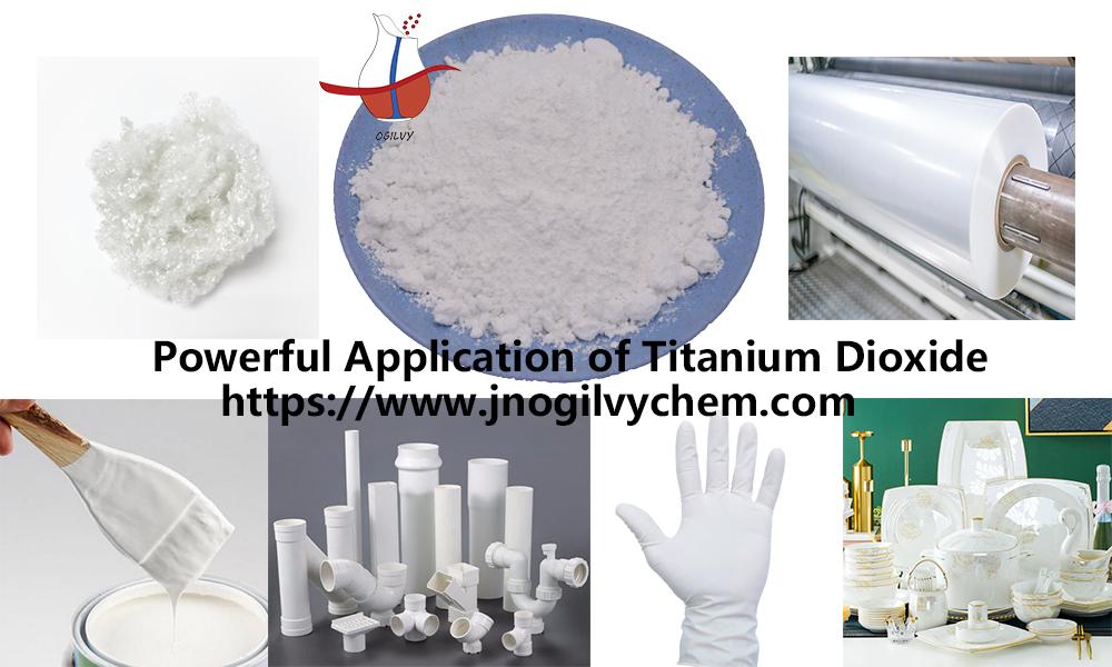 Powerful Application of Titanium Dioxide