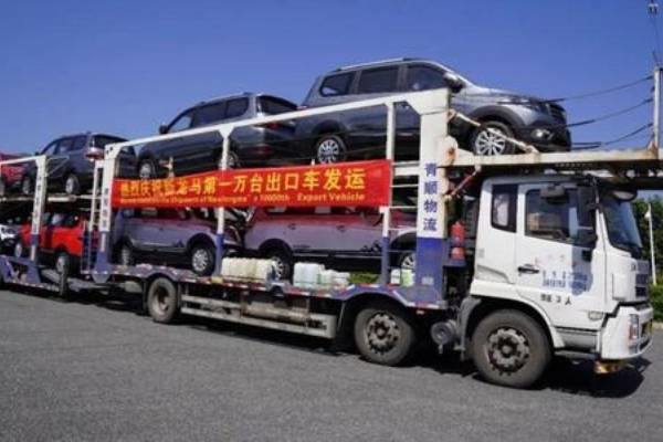 New Longma Motors welcomes the shipment of the 10,000th export vehicle