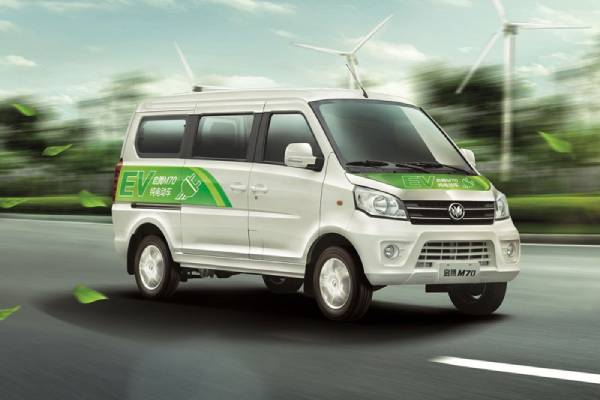 What are the precautions for charging Electric Minivan?