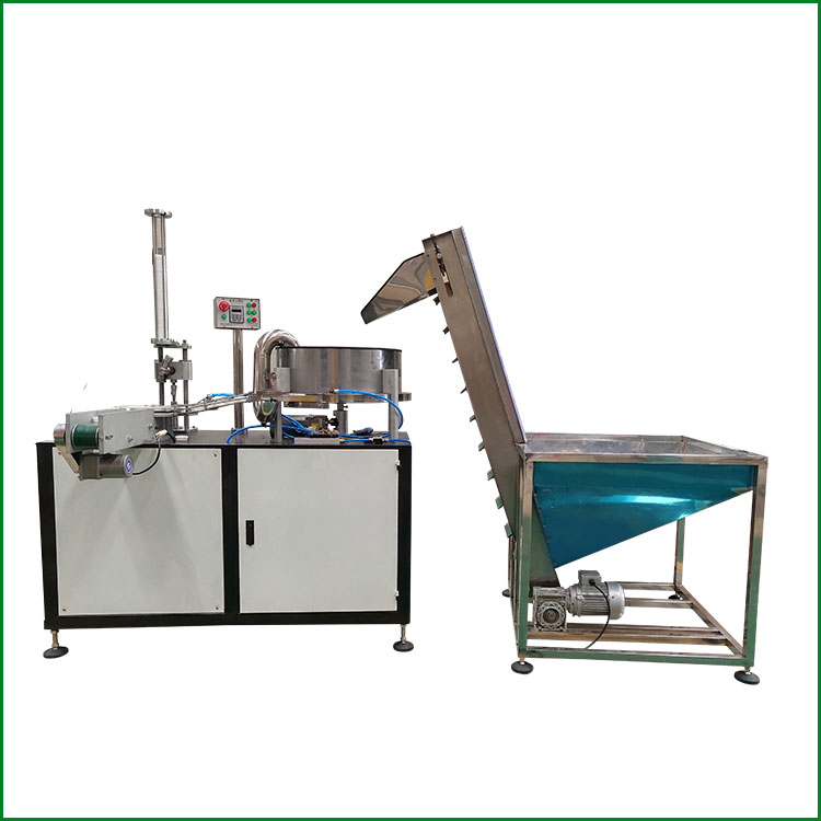 Cap Assembly Machine For Add Foam Liner