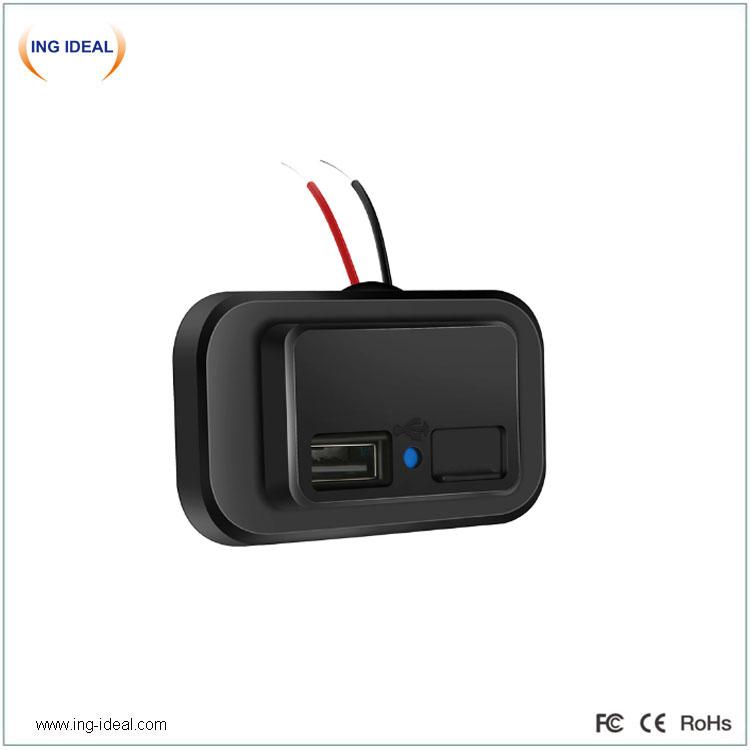 4,8A USB nabíječka do auta pro mobilní telefon