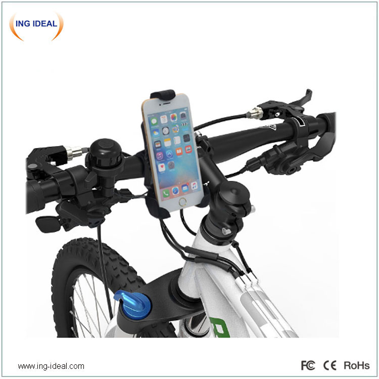 Automatically Bike Holder Phone