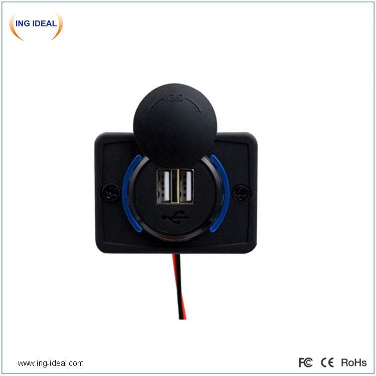 Flat Type Usb Charger Auto Easy Install
