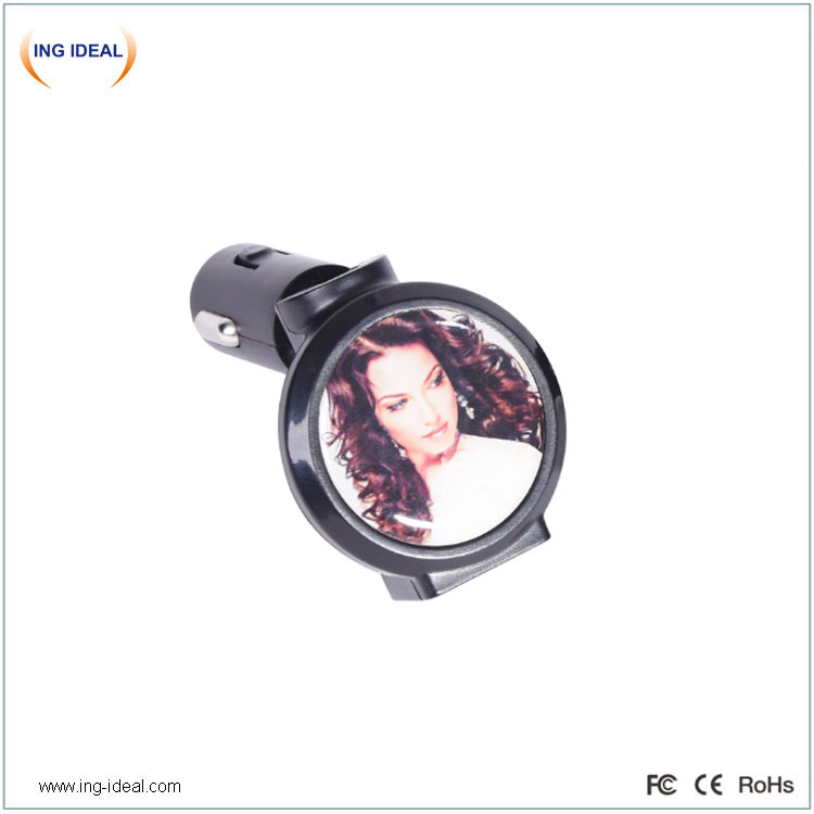 Folded Phone Charger Car With Lighting Logo