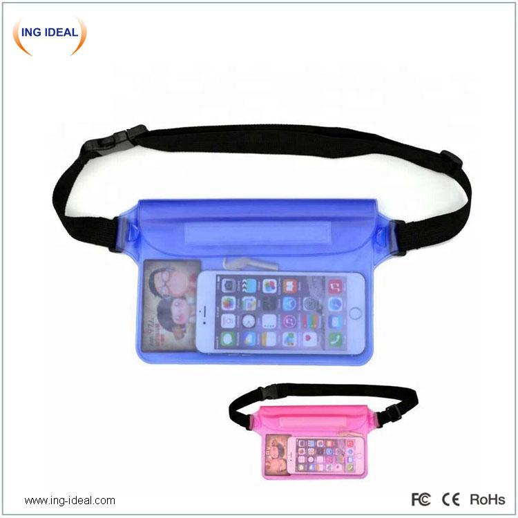 Водоустойчива чанта за талия за мобилни телефони