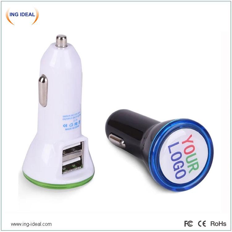 OEM-i reklaam-logo USB-autolaadija
