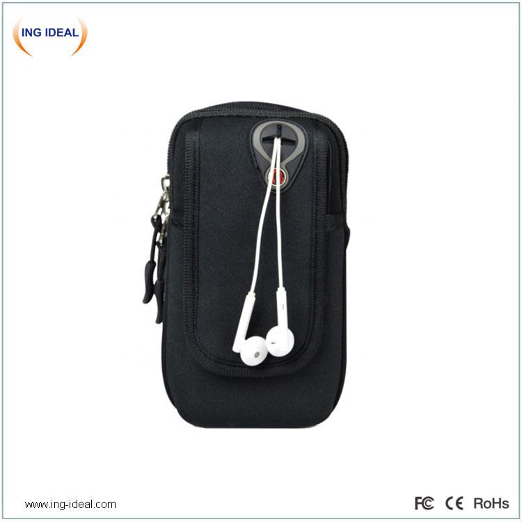 Venkovní taška na mobilní telefon pro pěší turistiku