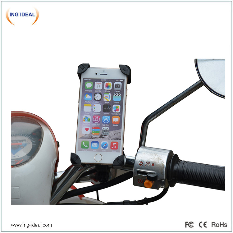Stable Bike Cell Phone Holder With 4 Legs Protection