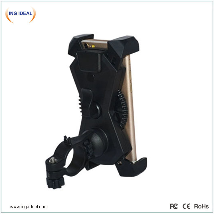 Stable Phone Holder Motorcycle With Legs Protection