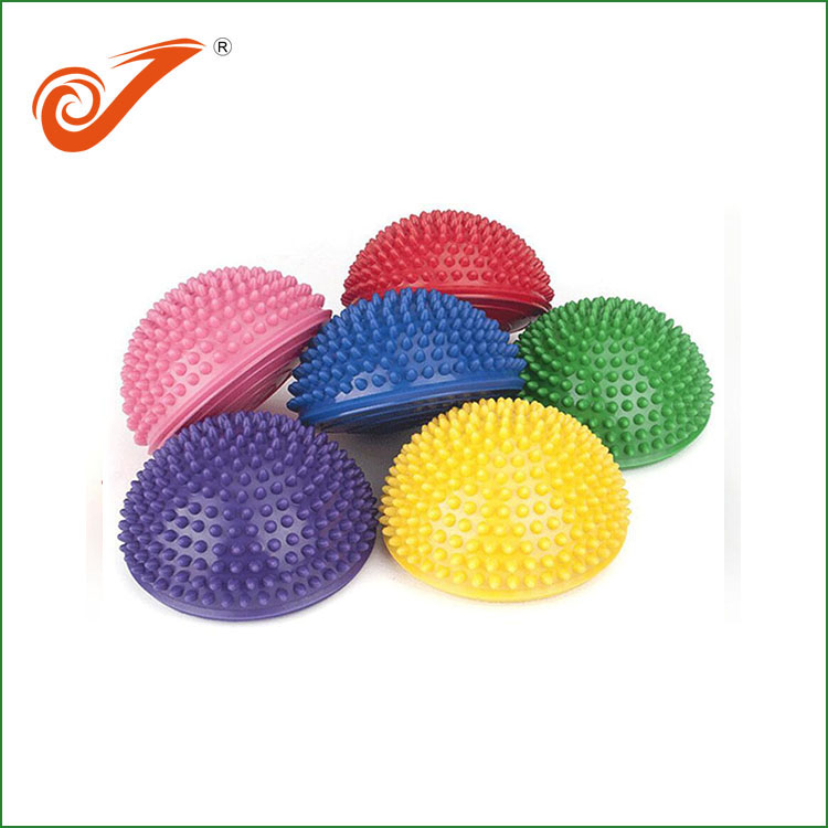 Colorful Spiky Pvc Exercise Half Massage Ball