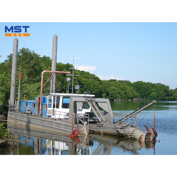 10 Inch Floating Gold Cutter Suction Dredger For Sale