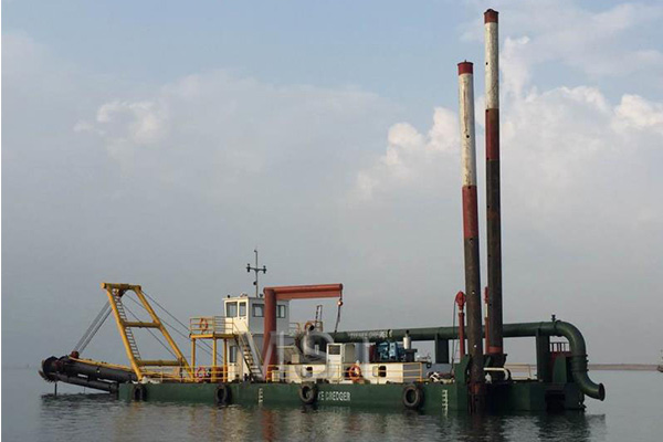 The Solution of Dredger Suction Head Blocked