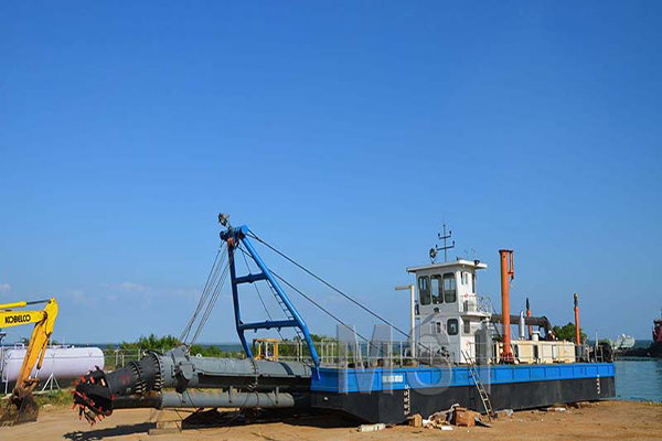 Function of Cutter Suction Dredger