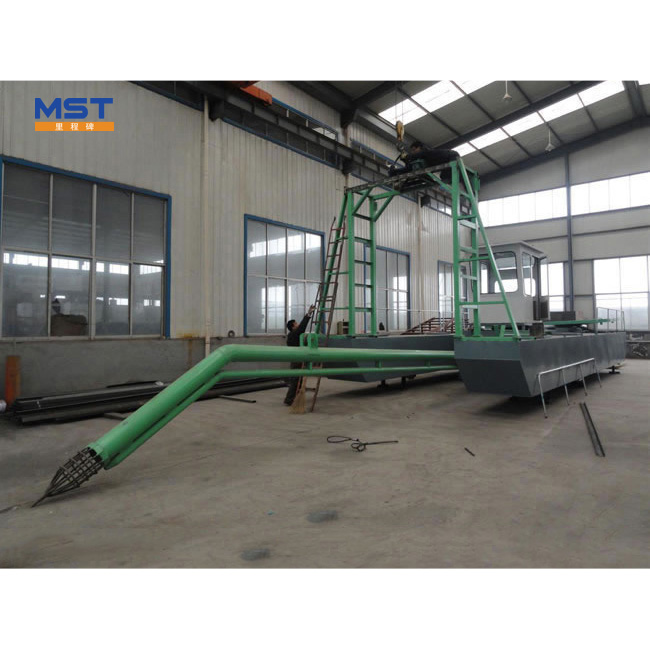 Long Boom Small Sand Dredging Water Jet Suction Machine