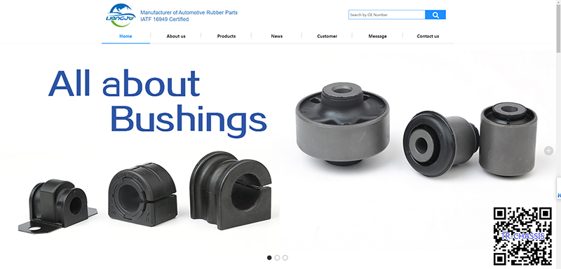 Congratulations on the launch of our new website for AUTOMOTIVE CHASSIS RUBBER PARTS