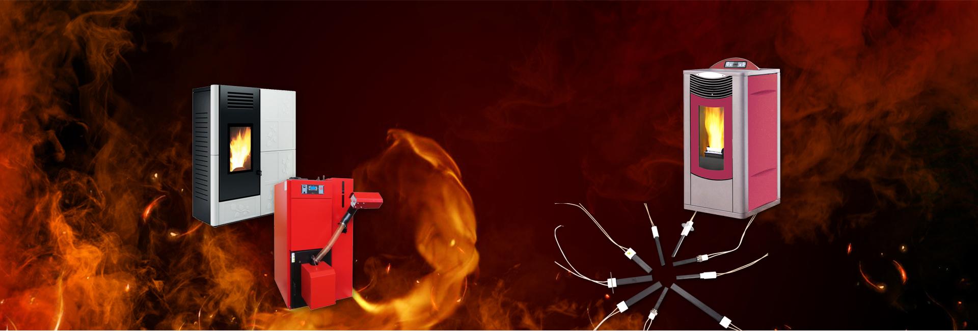 Запалувач на котел на шпорет на пелети