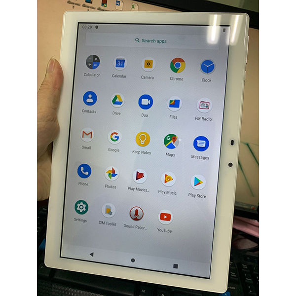 10.1 Inch MT6739 CPU Android 4G LTE Tablet PC