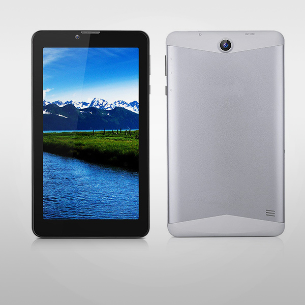 7 hazbeteko MTK6580 CPU Android 3G Tablet PC