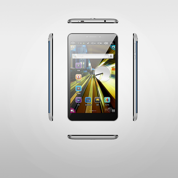 8 hazbeteko MTK6580 CPU Android 3G Tablet PCa
