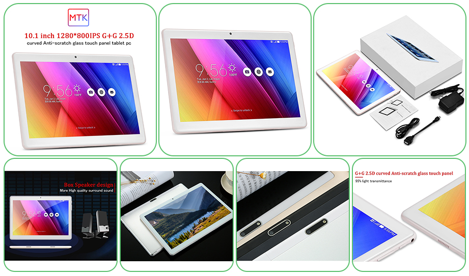 10 Inch MTK8163 CPU Android WIFI Tablet PC