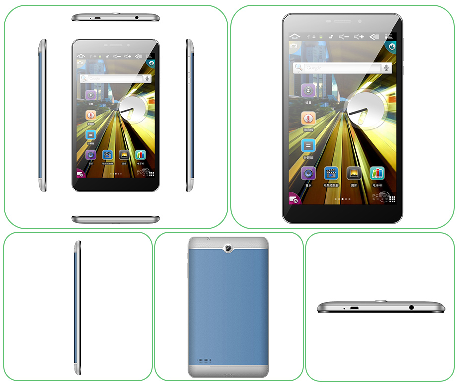 8 Inch MTK6580 CPU Android 3G Tablet PC