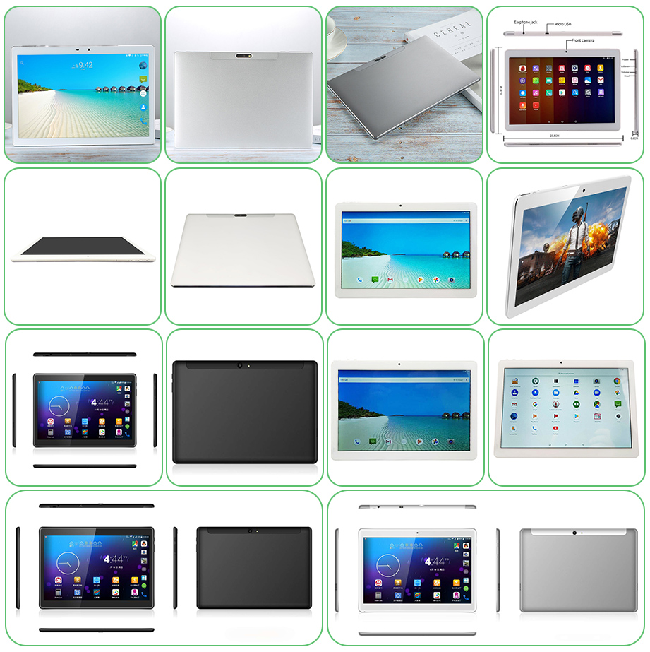 10.1 Inch MTK6797 Deca Core CPU Android 4G LTE Tablet PC