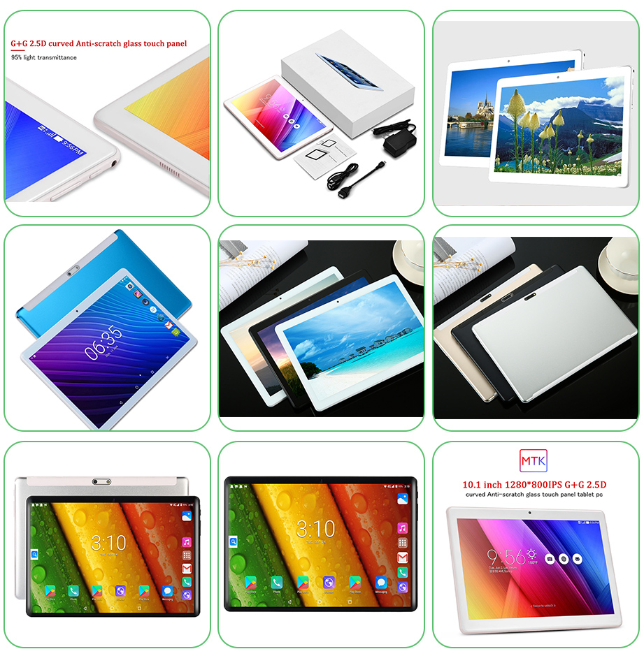 10.1 Inch SC9863A Octa Core PUZ Android 4G LTE Tablet PC
